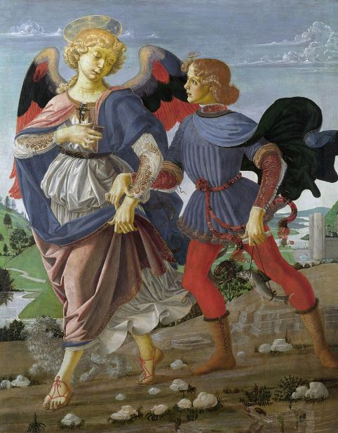 Verrocchio 'Tobias and the Angel' (c.1471 - 72)