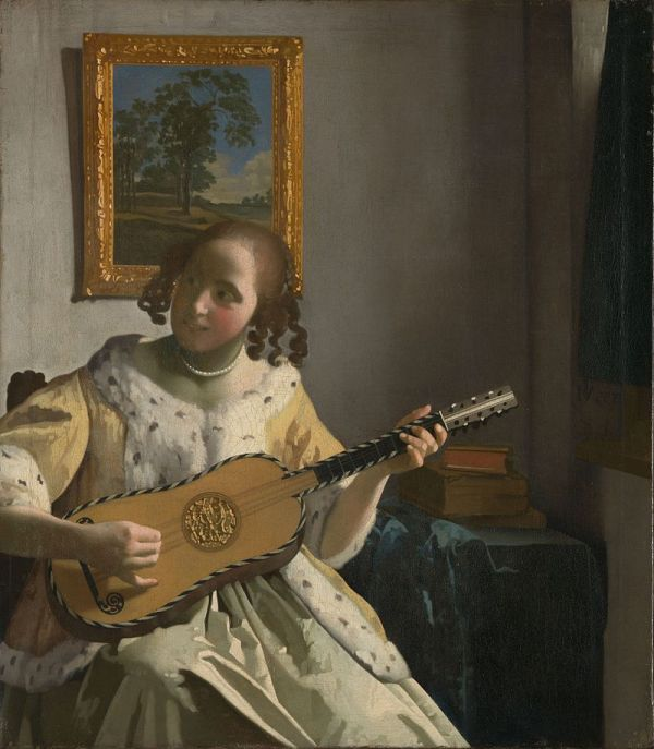 Johannes Vermeer 'The Guitar Player' (1670 - 72)