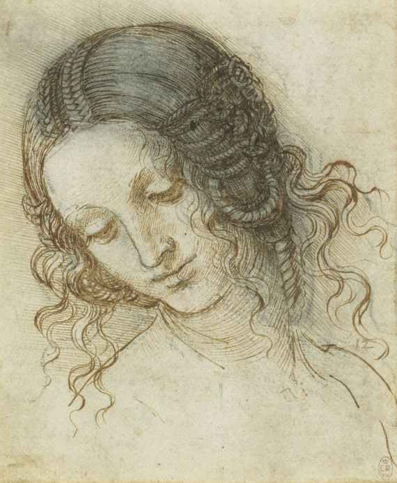 Leonardo 'The Head of Leda' (c.1505 - 08)