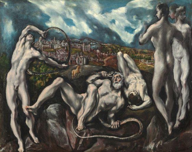 El Greco 'Laocoon' (c.1610)