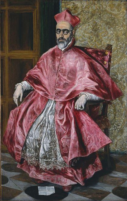 El Greco 'Portrait of Cardinal Nino de Guevara' (c.1600)