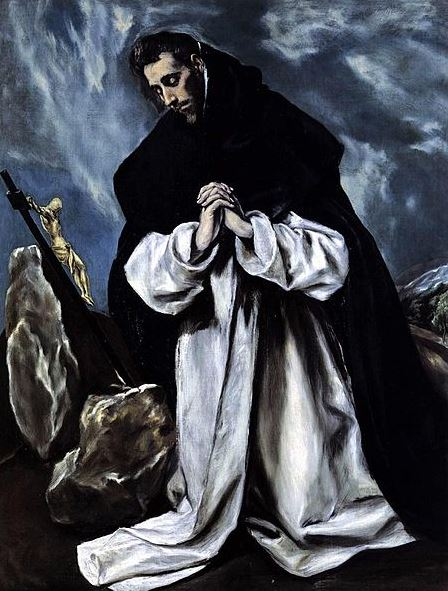 El Greco 'Saint Dominic in Prayer' (c.1585 - 90)