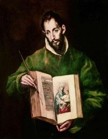 El Greco 'Saint Luke' (c.1605)