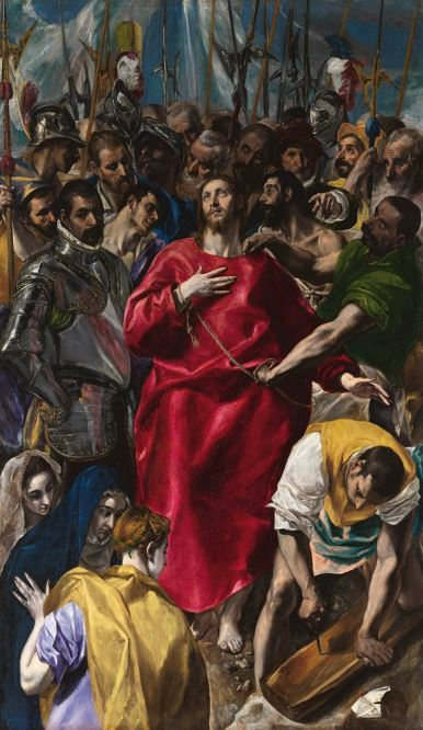 El Greco 'The Disrobing of Christ' (c.1579)