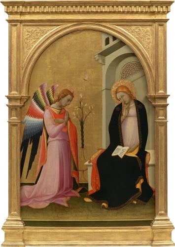 Lorenzo Monaco 'Annunciation' (c.1420 - 24)
