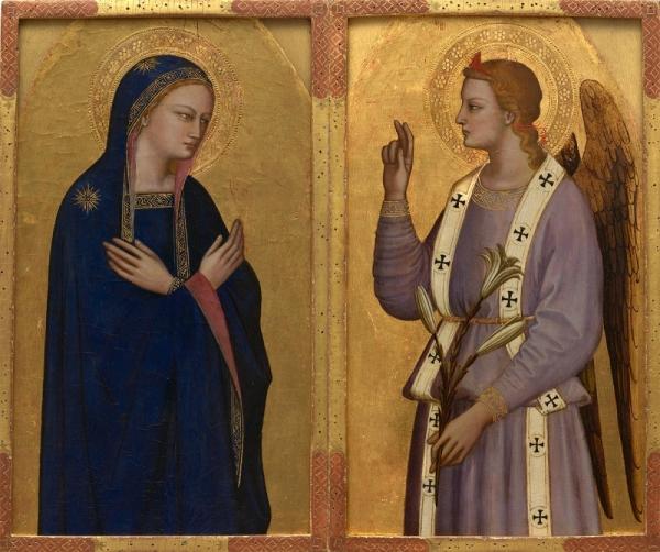 Nardo di Cione 'Annunciation' (c.1350 - 55)