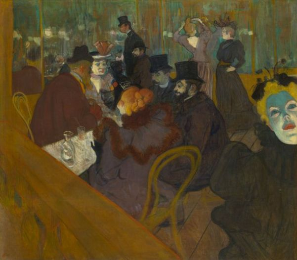 Toulouse-Lautrec 'At the Moulin Rouge' (1892 - 95)