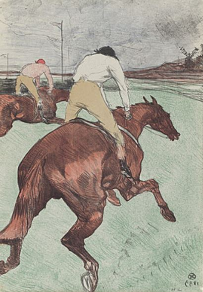 Toulouse-Lautrec 'The Jockey' (1899)