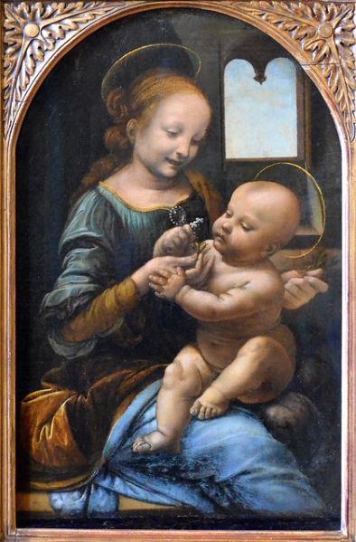 Leonardo 'Benois Madonna' (1480 - 82)