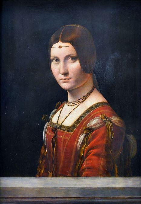 Leonardo da Vinci 'La belle ferronniere' (c.1490 - 96)