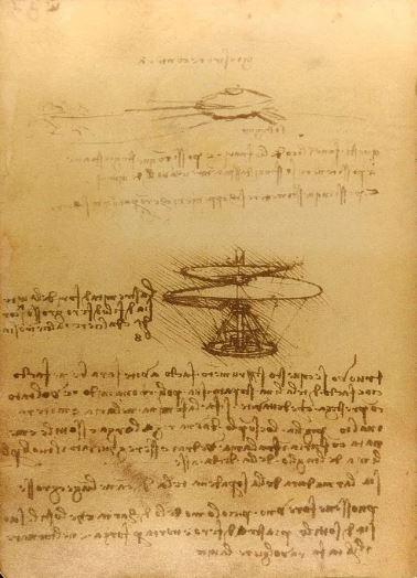 Leonardo da Vinci 'Manuscript B' (c.1487 - 89)
