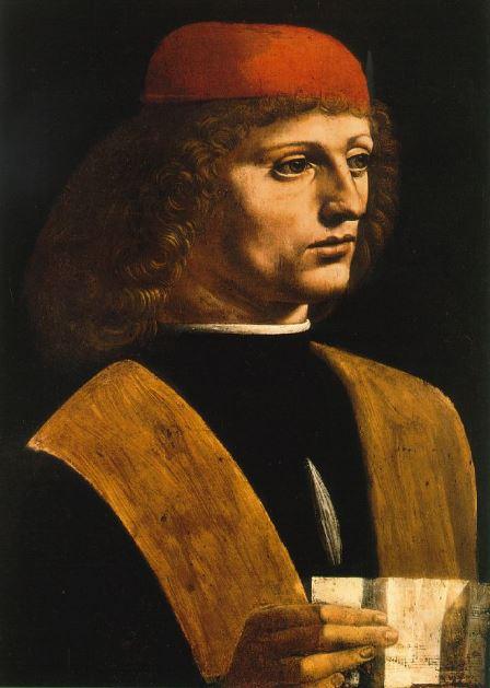 Leonardo da Vinci 'Portrait of a Musician' (c.1490)