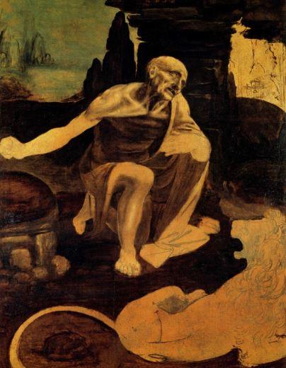 Leonardo da Vinci 'Saint Jerome' (c.1480 - 82)