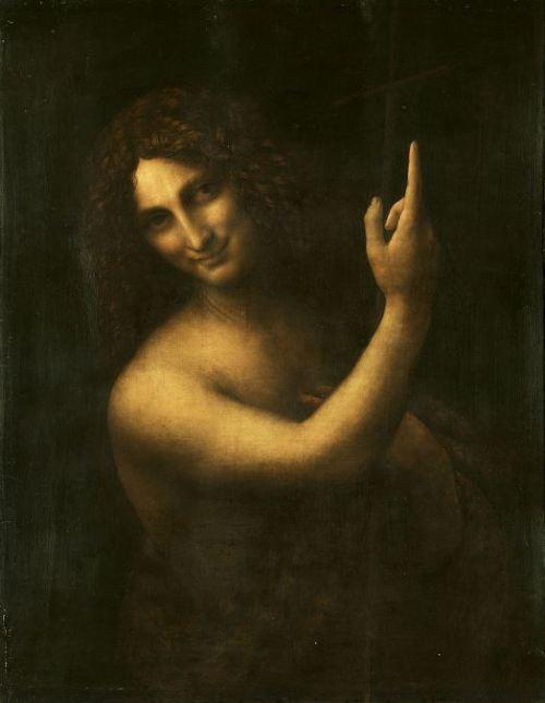 Leonardo da Vinci 'St. John the Baptist' (c.1513 - 16)