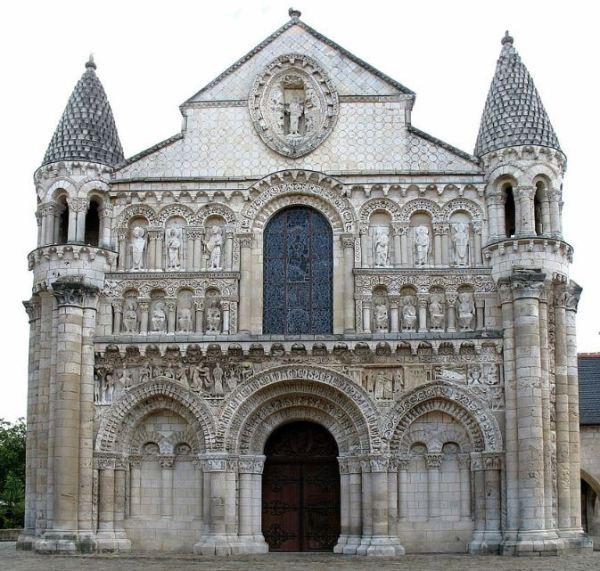 Eglise Notre Dame la Grande, Poitiers