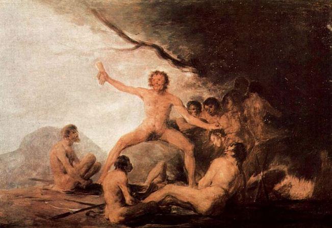 Goya 'Cannibals' (c.1800)