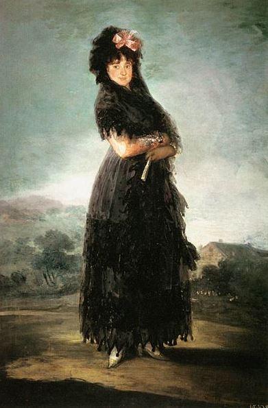 Goya 'Mariana de Waldstein, Marquesa de Santa Cruz' (c.1798)