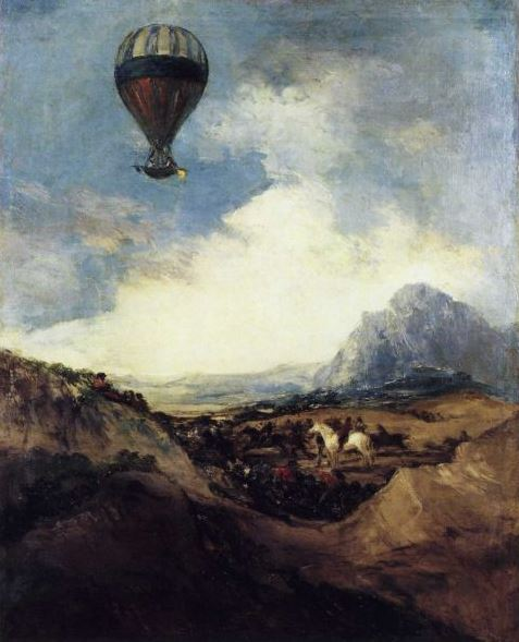 Goya 'The Balloon' (c.1816 - 24)