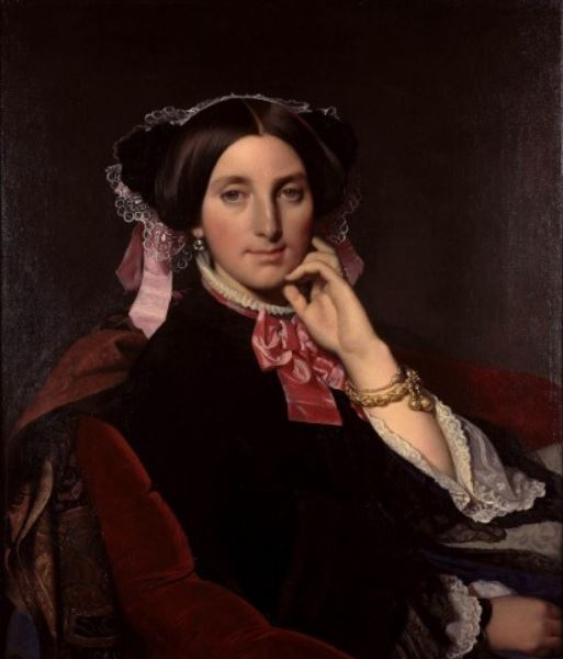 Ingres 'Portrait of Madame Gonse' (1852)