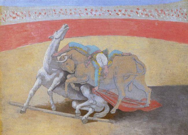 Pablo Picasso 'La Petite Corrida' (1922)
