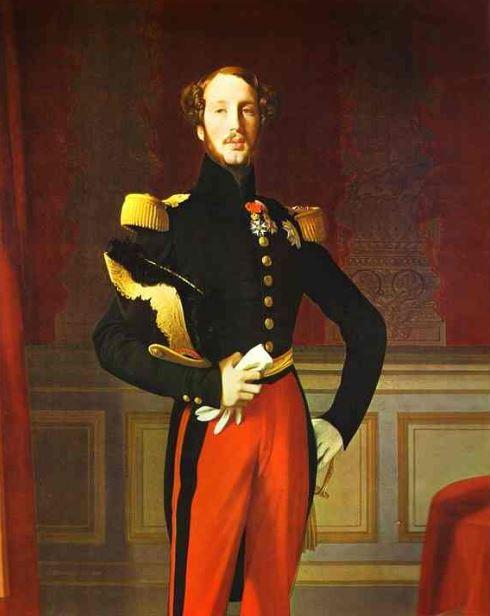 Portrait of Ferdinand-Philippe d'Orléans' (1842)
