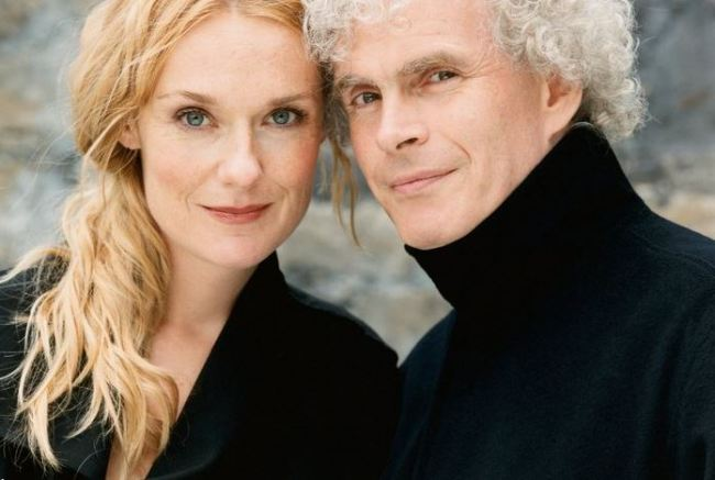Magdalena Kozena and Simon Rattle